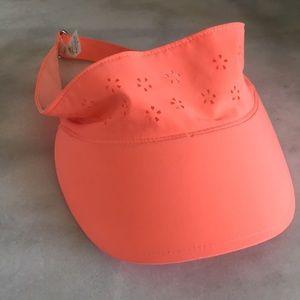 Lululemon neon visor